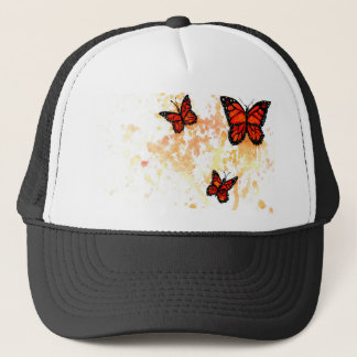 Monarch Butterfly Art Trucker Hat