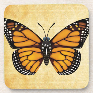 Monarch Butterfly Beverage Coasters