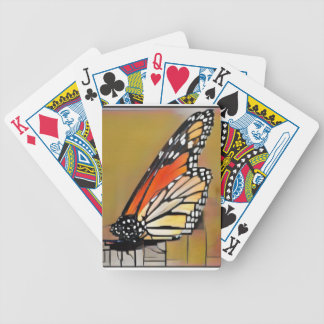 Monarch Butterfly Bicycle Playing Cards