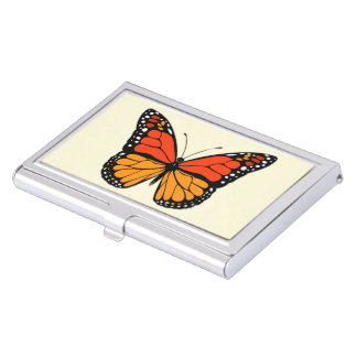 Monarch butterfly business card holders