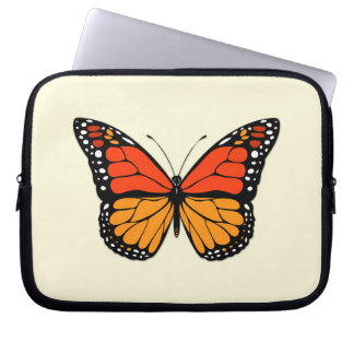 Monarch butterfly computer sleeves