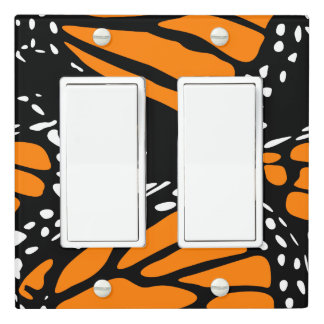 Monarch Butterfly Design - Light Switch Cover