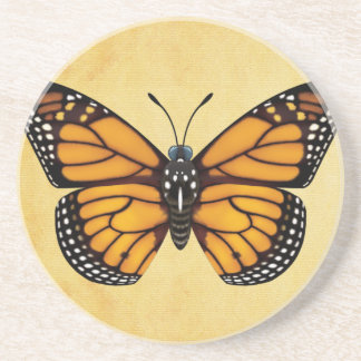 Monarch Butterfly Drink Coaster