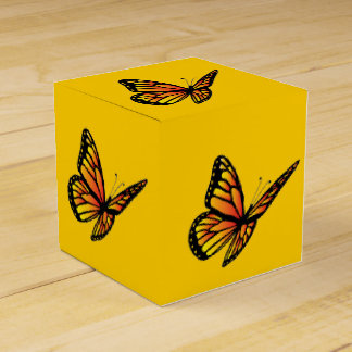 Monarch Butterfly Favor Box