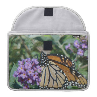 Monarch Butterfly Flowers Floral Wildlife MacBook Pro Sleeves