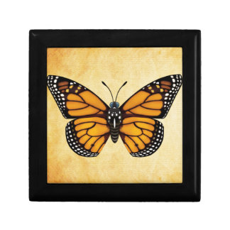 Monarch Butterfly Gift Box