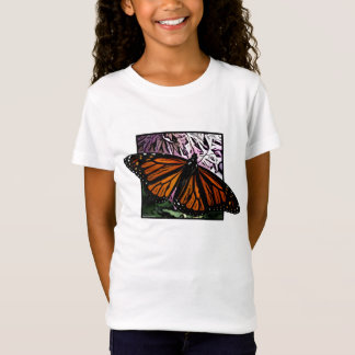 Monarch Butterfly Girl's T-Shirt