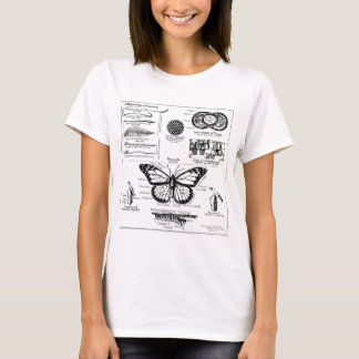 Monarch Butterfly Information T-Shirt
