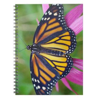 Monarch Butterfly Journal Spiral Note Book