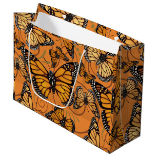 Monarch Butterfly Large Gift Bag