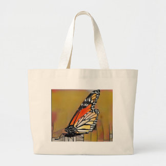 Monarch Butterfly Large Tote Bag