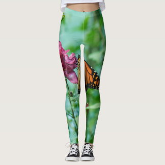 Monarch Butterfly Leggings from Naturewear