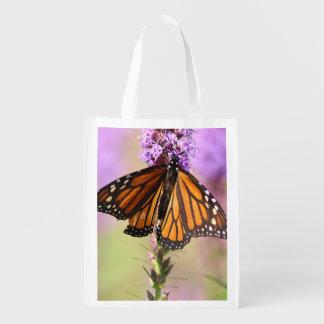 Monarch butterfly market tote