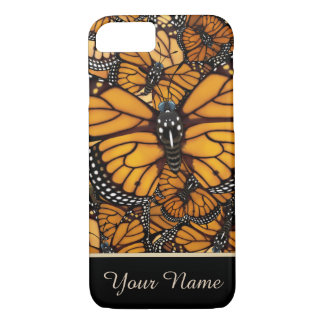 Monarch Butterfly Migration Personalized iPhone 8/7 Case