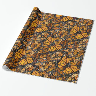 Monarch Butterfly Migration Wrapping Paper