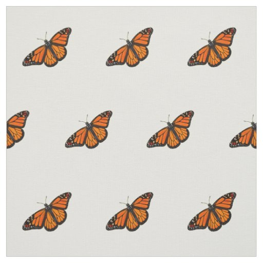 Monarch Butterfly Nature Fabric