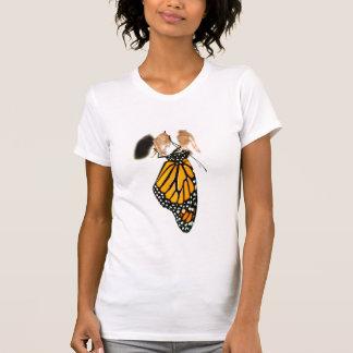Monarch Butterfly Newborn Photograph T-Shirt