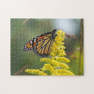 Monarch Butterfly on Goldenrod Puzzle