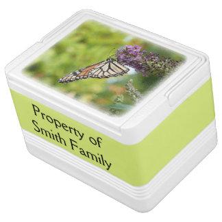 Monarch Butterfly on Purple Butterfly Bush