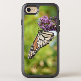 Monarch Butterfly on Purple Butterfly Bush OtterBox Symmetry iPhone 8/7 Case