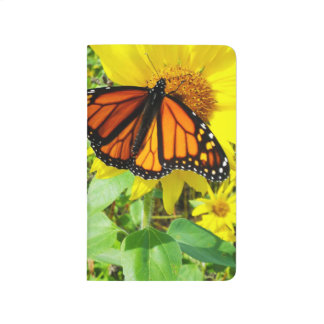 Monarch Butterfly on Sunflower Journals