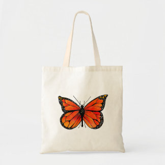 Monarch Butterfly on Tote Bag