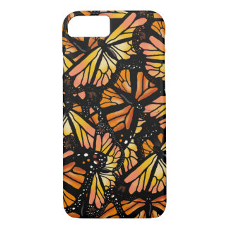 MONARCH BUTTERFLY PATTERN by Slipperywindow iPhone 8/7 Case