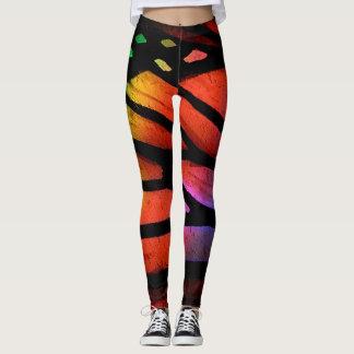 Monarch Butterfly Pattern Leggings