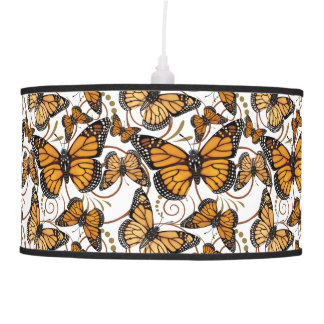 Monarch Butterfly Pendant Lamp