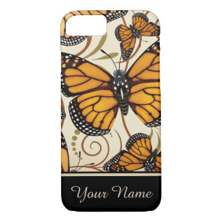 Monarch Butterfly Personalized iPhone 8/7 Case