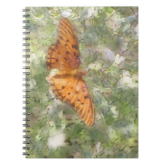 Monarch Butterfly Photo Notebook