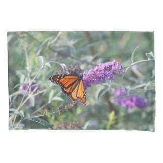 Monarch butterfly pillowcase
