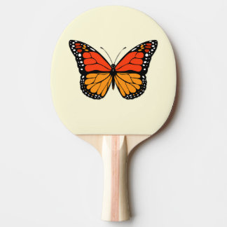Monarch butterfly Ping-Pong paddle