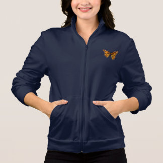 Monarch Butterfly Printed Jacket