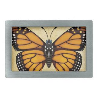 Monarch Butterfly Rectangular Belt Buckles