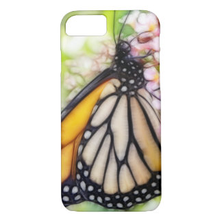 Monarch Butterfly Sipping Nectar iPhone 8/7 Case