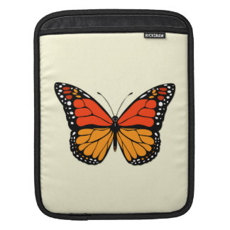 Monarch butterfly sleeve for iPads