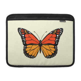 Monarch butterfly sleeves for MacBook air