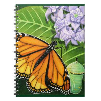 Monarch Butterfly Spiral Notebooks