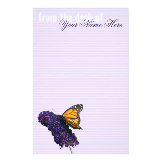 """monarch butterfly"" stationery"