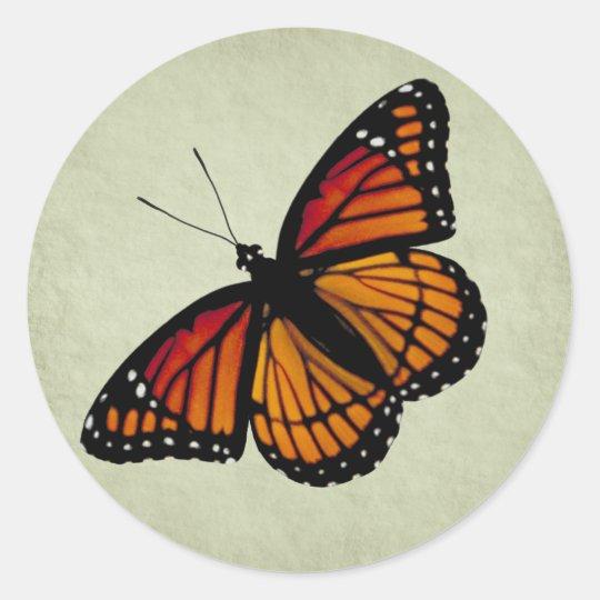 Monarch Butterfly Sticker