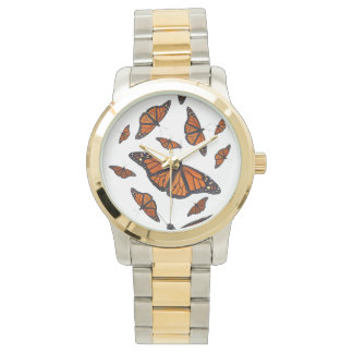 Monarch Butterfly Watch (Choose Colour)