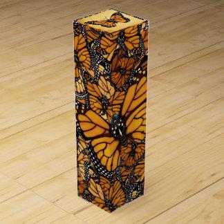 Monarch Butterfly Wine Gift Box