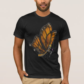 Monarch Butterfly with pipe T-Shirt
