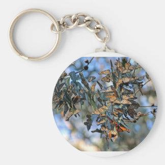 Monarch Cluster Keychain