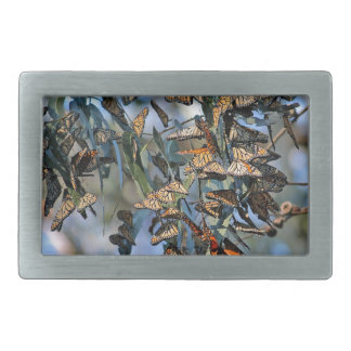 Monarch Cluster Rectangular Belt Buckle