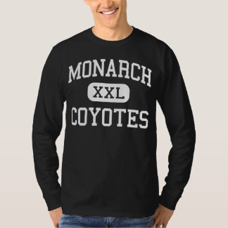 Monarch - Coyotes - High - Louisville Colorado T-Shirt