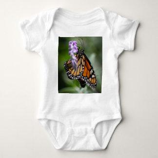 Monarch Danaus Plexippus Baby Bodysuit