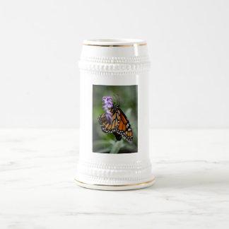 Monarch Danaus Plexippus Beer Stein