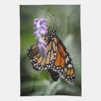 Monarch Danaus Plexippus Hand Towels